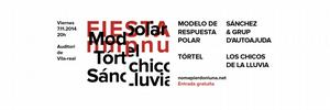 La Festa Nomepierdoniuna porta a Vila-real la m�sica de T�rtel, Modelo de Respuesta Polar, S�nchez i Los Chicos de la Lluvia