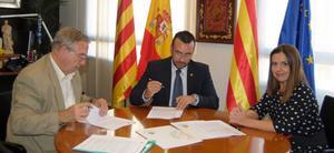L'Ajuntament signa un conveni amb C�ritas de 52.600 euros per al programa d'atenci� a persones sense llar