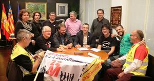 La Marxa per la Dignitat arriba a Vila-real