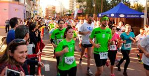 La IV carrera solid�ria 5km #yt�xqui�ncorres? reuneix m�s de 500 participants a Vila-real