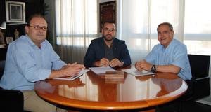 Benlloch mostra el suport de Vila-real a l'Associaci� de T�cnics Cer�mics per al congr�s d'octubre