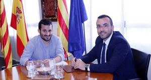 Ajuntament i Generalitat acorden treballar de manera conjunta per a potenciar les marques de ciutat i
