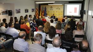 El Consell porta a Vila-real la reivindicaci� d'un finan�ament valenci� just amb la xarrada informativa del conseller Vicent Marz�