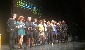 La com�dia �cida 'Hasta que la celda nos separe'' triomfa en la gala de Cineculpable 2015 i s'al�a amb el premi al Millor Curt i Millor Direcci�