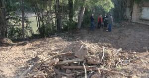 L'Ajuntament inicia la neteja del Millars per a fer-lo navegable i facilitar l'acc�s a les pirag�es a la zona del Mol� de Tatxes
