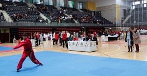Les arts marcials convoquen 350 persones en el campionat d'AEC Arts Marcials Vila-real