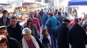 La fira de Santa Caterina reviu la tradici� i anticipa el Nadal a Vila-real