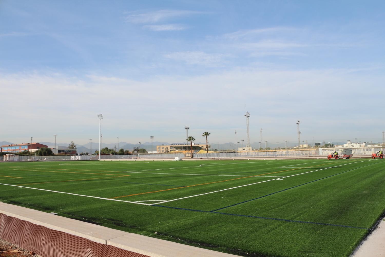 La ciudad deportiva municipal avanza a buen ritmo y for Puerta 8 ciudad deportiva
