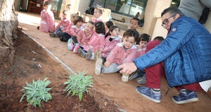 Vila-real impulsa el seu primer pla d'horts escolars per a ensenyar 1.300 xiquets a valorar i respectar l'agricultura i la natura