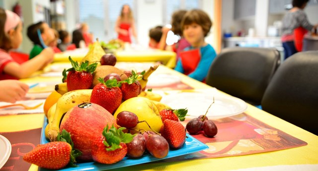 Un centenar de niños y niñas aprenden cocina creativa y saludable ...