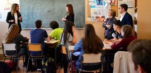 Els escolars de Vila-real s'apropen a la cultura de la innovaci� amb el programa Aula-Empresa de Globalis