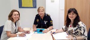 Vila-real d�na els primers passos per a obrir la primera Escola de Mediaci� Policial de l'IVASPE de la Comunitat