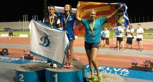 L'agent Bego�a Bensach s'al�a amb tres plates i dos bronzes als Europeus de Policies de Huelva