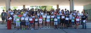 Les V proves matem�tiques Canguret lliuren els diplomes als 302 alumnes de Vila-real participants en el certamen virtual