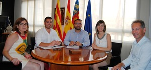 L'Ajuntament de Vila-real refor�a el comprom�s amb el comer� local amb la signatura d'un conveni de 18.750 euros amb Ucovi