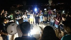 Vila-real celebra la festa de Sant Jaume amb el tradicional concert i toc de campanes des de dalt del campanar