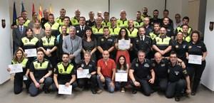 El Curs intensiu de mediaci� policial 'diploma' a 70 nous agents mediadors