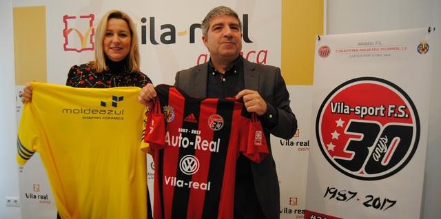 Presentación del 30º aniversario del Club Vila-sport FS