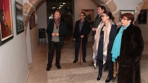 La Casa de l'Oli exposa les pintures a l'oli de Jos� Ram�n Rom�n