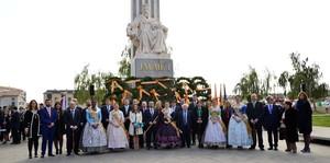 Vila-real ret homenatge al rei Jaume I en commemoraci� del 743� aniversari de la ciutat