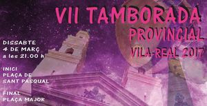 La VII Tamborada Provincial convoca dissabte mig miler de bombos i tambors per anunciar la Setmana Santa a Vila-real