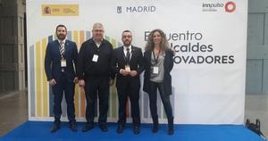 Vila-real porta la tecnologia local i el model de ciutat innovadora a la trobada estatal de la Xarxa Innpulso a Madrid