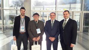 Una delegaci� municipal participa a la presentaci� del 'Llibre Blanc de les infraestructures de l'Euroregi� de l'Arc Mediterrani'
