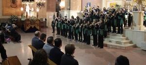 Les cornetes i tambors del IX Preg� Musical marquen l'entrada de la programaci� de Setmana Santa a Vila-real