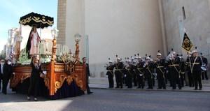 Bandes de Vila-real i Murcia tanquen el pr�leg musical de la Setmana Santa amb el IX Preg� de l'AM Virgen de Gracia