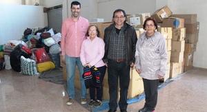 Cooperaci� col�labora amb Obrim Fronteres en l'enviament a Calais d'un cami� amb roba donada per Vila-real per als refugiats