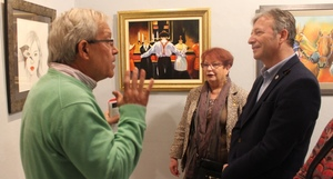 La Casa de l'Oli exposa les pintures de Joaqu�n Garc�a