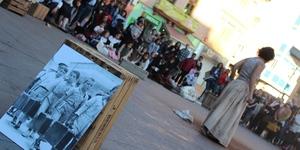 El Memorial Democr�tic recrea l'acollida de refugiats i l'exili despr�s de la guerra a Vila-real