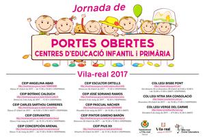 Els centres educatius d'Infantil i Prim�ria de Vila-real preparen jornades de portes obertes per a donar-se a con�ixer