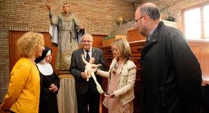 El IVC+R retorna a Vila-real la imatge de sant Pasqual restaurada en el centenari del patronatge per a la process� del 17 de maig