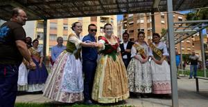 Vila-real enc�n la metxa dels 10 dies de festes de Sant Pasqual
