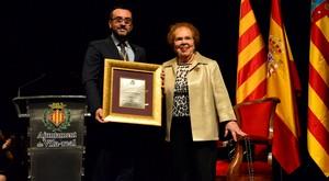 L'empres�ria i dissenyadora Dolores Cort�s se suma als honors de la ciutat com a Filla Predilecta de Vila-real