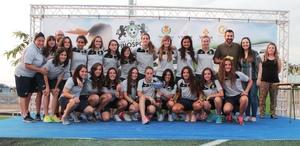 Vuit equips de futbol femen� de tot l'Estat mesuren les forces en la II Girls Cup