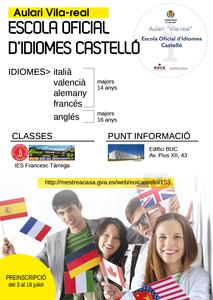 Punt d'informaci� i matr�cula de l'Escola Oficial d'Idiomes