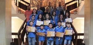 L'Ajuntament felicita els equips del Club Pat� Ciutat de Vila-real pels resultats de la temporada