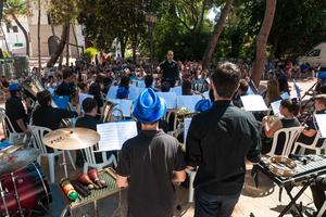 La m�gia de la m�sica, concert d'estiu de la Banda Jove