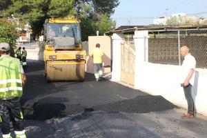 Serveis P�blics executa un ambici�s pla d'asfaltatge amb continu�tat en el temps per a millorar vies urbanes i rurals de Vila-real