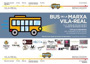 El Bus de la Marxa escalfa motors amb 15 locals adherits i arranca el 22 de juliol per a unir Vila-real amb Benic�ssim