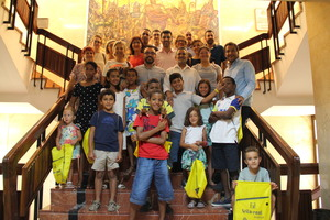 L'Ajuntament rep vuit xiquets sahrau�s que passaran l'estiu a Vila-real