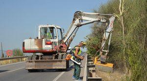 Serveis P�blics Vila-real neteja i condiciona les cunetes, camins rurals i solars municipals del terme