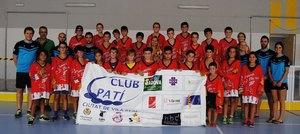 El Club Pat� Ciutat de Vila-real celebra el segon campus esportiu amb 51 participants procedents de tota Espanya