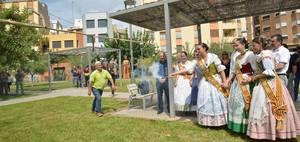 Vila-real enc�n la metxa de 10 dies de festa amb la Crida de Joan Batalla i la inauguraci� del Recinte de la Marxa