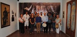 El jurat del Certamen Internacional Francesc T�rrega visita el Museu de la Ciutat