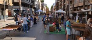 La mobilitat sostenible ocupa el carrer amb activitats, jocs i tallers amb la bicicleta de protagonista a l'avinguda de Pius XII