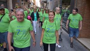 Vila-real 'marxa' per la salut mental de la m� de la Fundaci� Manantial