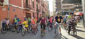 La bicicletada popular fa una crida per una mobilitat sostenible a Vila-real
